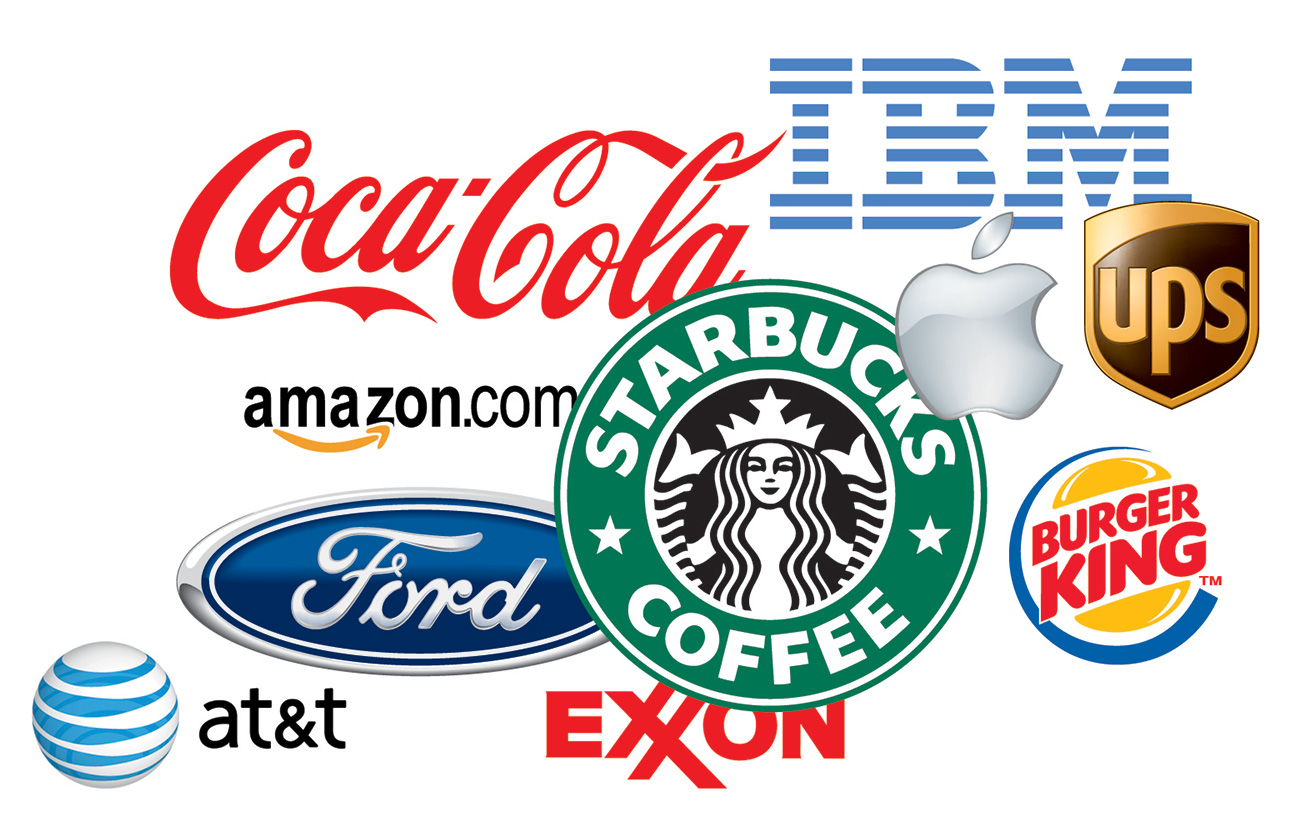 Commercial brand collage