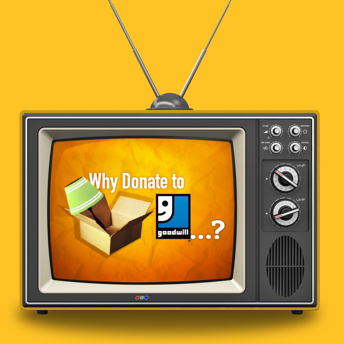 Image of a placed TV advertisement