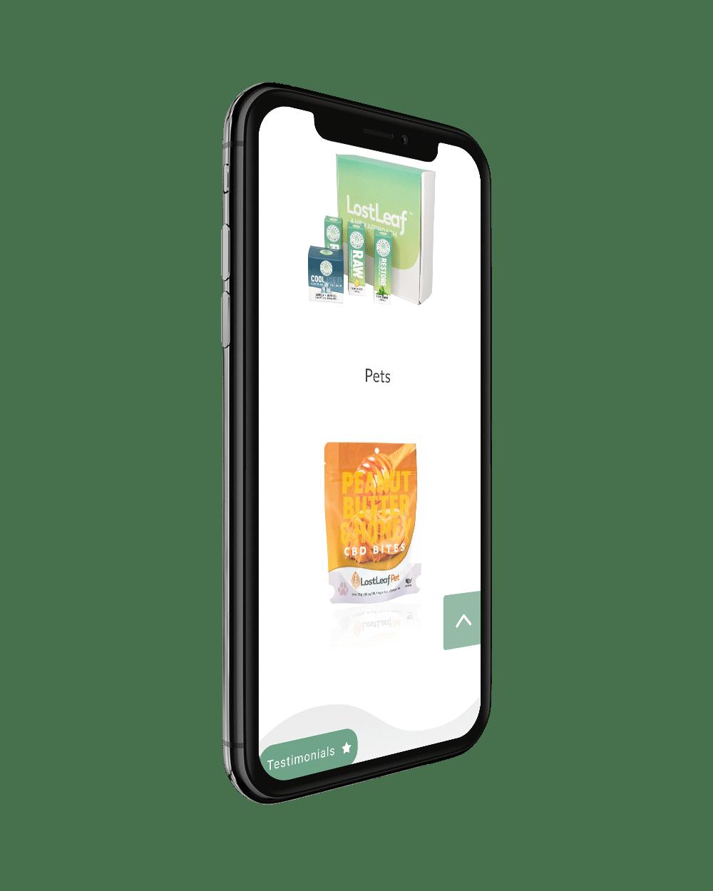 phone right - LostLeaf Naturals