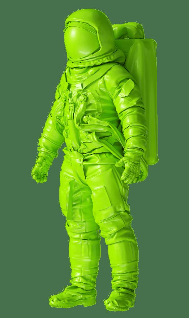 Green Astronaut