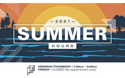 Summer Hours 2021